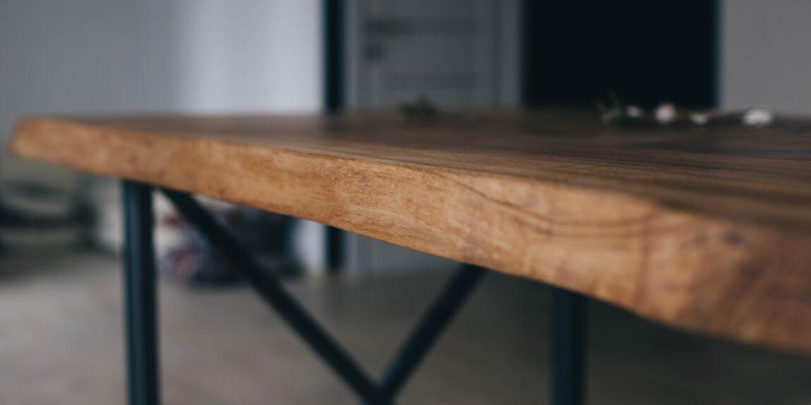 Tischbeine Stahl von Eichenholzprofi.de >>
